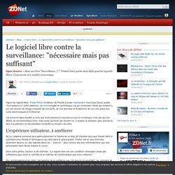 """Le logiciel libre contre la surveillance: """"nécessaire mais pas suffisant"""" - ZDNet"""