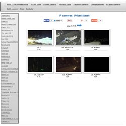 Watch surveillance online IP cameras in United States