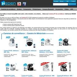 Caméra Int Motorisée - Caméras de surveillance