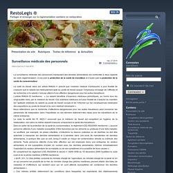 RESTOLEGIS 21/05/14 Surveillance médicale des personnels