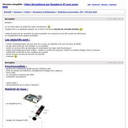 RacingFR > Video-Surveillance par Raspberry PI avec envoi MMS