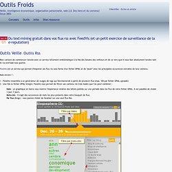 Du text-mining gratuit dans vos flux rss avec FeedVis (et un petit exercice de surveillance de la e-reputation)