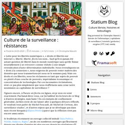 Culture de la surveillance : résistances
