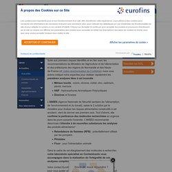 EUROFINS - OCT 2019 - Incendie Lubrizol : extension de la surveillance aux retardateurs de flammes (RFB), phtalates, fluor
