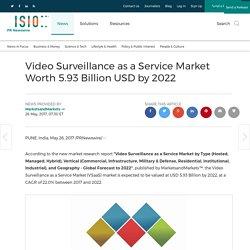 Video Surveillance as a Service Market Worth 5.93 Billion USD by 2022