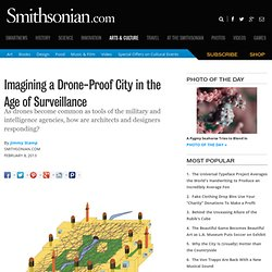 Imagining a Drone-Proof City in the Age of Surveillance