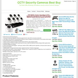 ZOSI 900TVL Outdoor Surveillance CCTV System 8CH Standalone CCTV DVR with 960H CMOS IR Camers Security System with IR Cut Filter 8CH DVR Kit