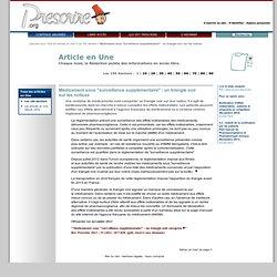 """Médicament sous """"surveillance supplémentaire"""": un triangle noir surlesnotices'', 1er novembre 2013"""