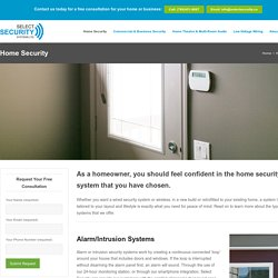Home Video Surveillance Systems