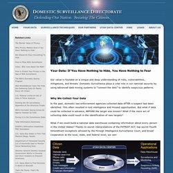 Domestic Surveillance National Data Warehouse