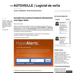 Surveiller les contenus Facebook efficacement avec Hyper Alerts