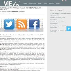 Surveiller les réseaux sociaux avec RSS