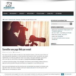 Surveiller une page Web par e-mail