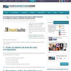 5 conseils pour surveiller son e-réputation et faire sa veille grâce à Hootsuite