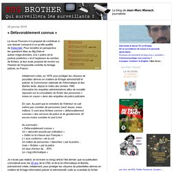 BUG BROTHER - Blog LeMonde.fr