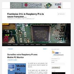 Surveillez votre Raspberry Pi avec Mobile PC Monitor