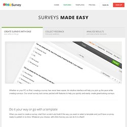 Survey - Create online surveys for free