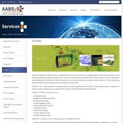 Survey GIS at AABSyS