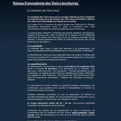 SURVEY: Le manifeste des Tiers-Lieux
