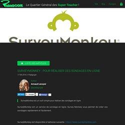 SurveyMonkey : pour réaliser des sondages en ligne - Padagogie
