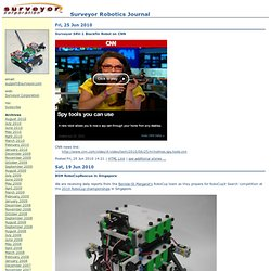 Robotics Journal