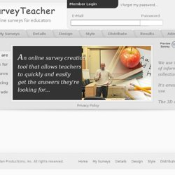 SurveyTeacher - Online Surveys for Educators