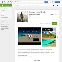 Survival Island: Evolve – Applications Android sur Google Play