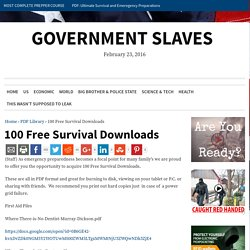100 Free Survival Downloads