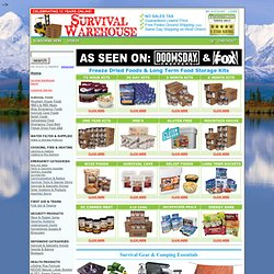 Buy Survival Foods by Mountain House | Long Term Food Storage | Buy Freeze Dried Food & Discount Survival Food