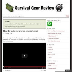 Survival Gear Review