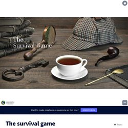 The survival game by wagner.nilles on Genially