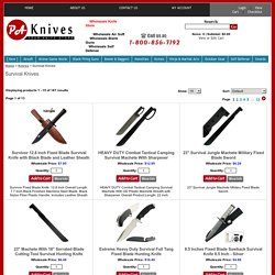 Hunting Survival Camping Knives Wholesaler Importer