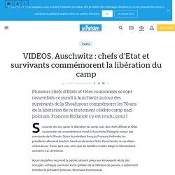VIDEOS. Auschwitz : chefs d'Etat et survivants commémorent la libération du camp - Le Parisien