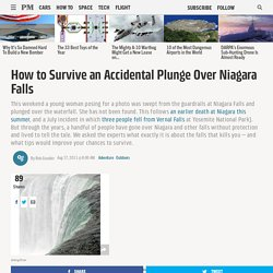 How to Survive an Accidental Plunge Over Niagara Falls