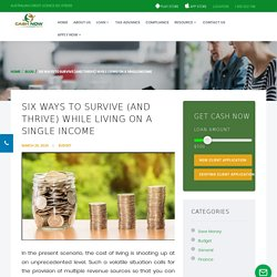 Six ways to survive (and thrive) while living on a single income