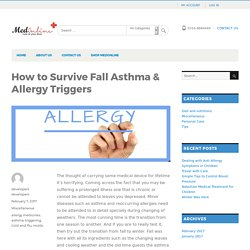 How to Survive Fall Asthma & Allergy Triggers - Medonline