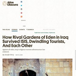 How Rival Gardens of Eden in Iraq Survived ISIS, Dwindling Tourists, And Each Other