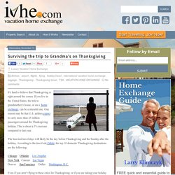 Surviving the trip to Grandma's on Thanksgiving