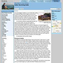 Surviving India - India - Mark Moxon's Travel Writing