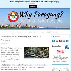 Driving Me Mad: Surviving the Streets of Paraguay — WhyParaguay?