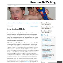 Surviving Social Media | Suzanne Bell's Blog