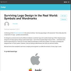 Surviving Logo Design in the Real World: Symbols and Wordmarks