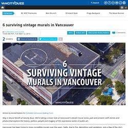 6 surviving vintage murals in Vancouver