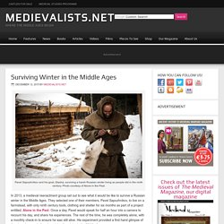Surviving Winter in the Middle Ages