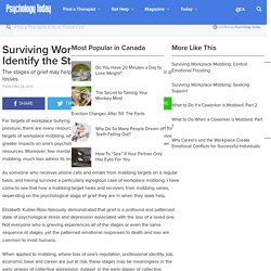 Surviving Workplace Mobbing: Identify the Stages