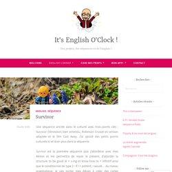 Survivor – It's English O'Clock !