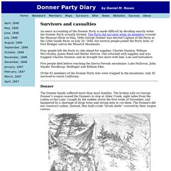 Donner Party Members