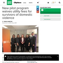 12/13: Calgary pilot program waives utility deposits for survivors of domestic violence