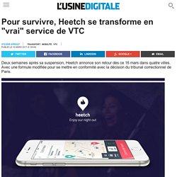 """Pour survivre, Heetch se transforme en """"vrai"""" service de VTC"""