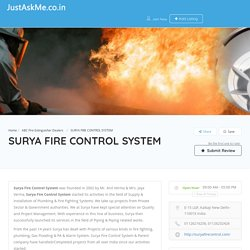 SURYA FIRE CONTROL SYSTEM - JustAskMe